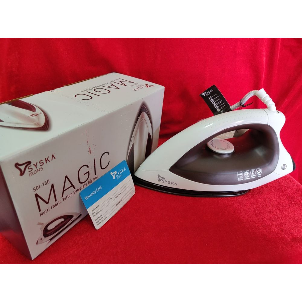 Syska magic iron