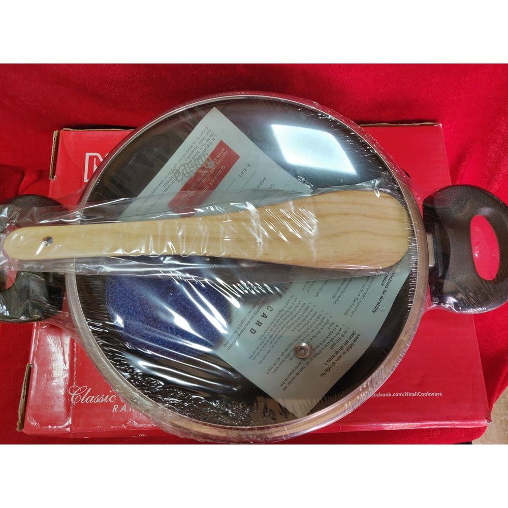 Nirali non stick cookware kadai mark II