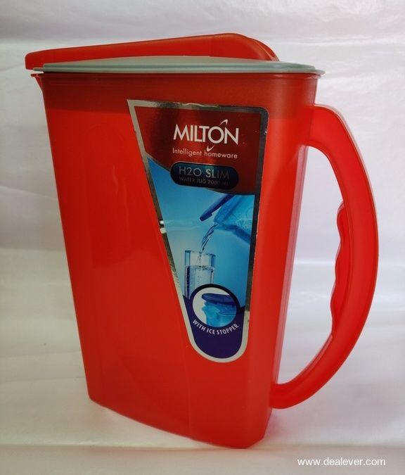 Milton Plastic H2O Slim Water Jug