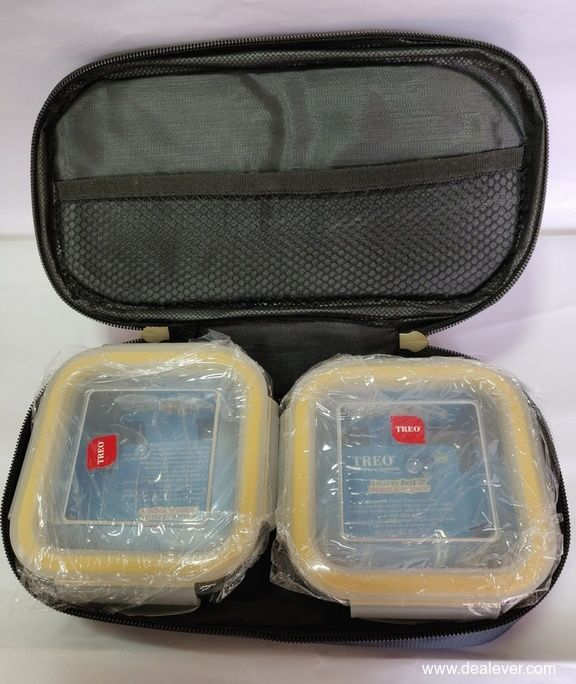 Treo Glass Tiffin 2 pieces