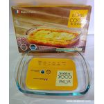 LaOpala 0.75 litre rectangle dish with h